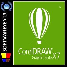 El Mejor Software De Diseño Gráfico Corel Draw X7 Oferta Ya