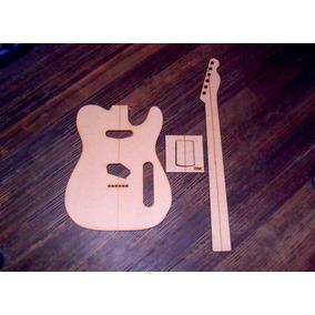 Plantillas Para Telecaster Fender Cuerpo, Mango Y Neckpocket