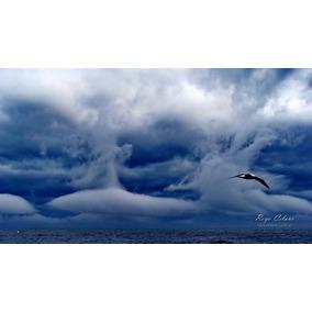 Nubes De Tormenta En Alta Mar Cuadro Fotográfico 50x70 Cm