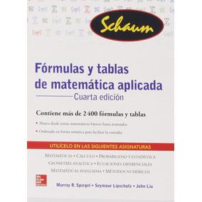 Libro Formulas Y Tablas De Matematicas Aplicadas Mcgraw Hill