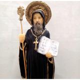 Imagen Religiosa - San Benito Abad 20cm Pvc Irrompible
