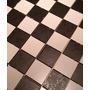 Mallas De Cerámico En Damero Blanco Y Negro (piso Y Pared)