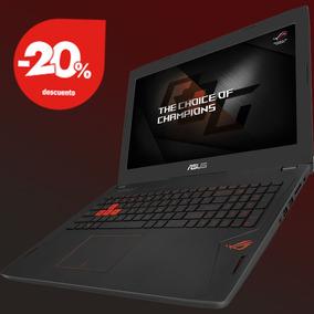 Notebook Gamer Asus Gtx1060,6700,16gb Ddr4,1t,256 Ssd G Sync