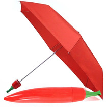 Sombrilla Paraguas En Forma De Chile Rojo M0022
