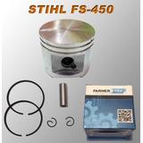 Piston Completo Para Stihl Fs-450 Desmalezadora Motoguadaña