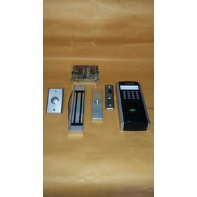 Kit Controle De Acesso Biometria E Senha