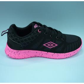 Zapatos Umbro Originales Para Damas - Um16509w Black