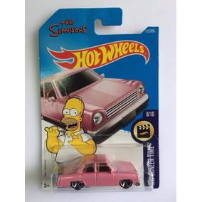 Hot Wheels The Simpsons Family Car 2015 Rosa
