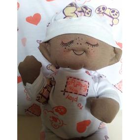 Boneca Modelo Bebe De Pano, Totalmente Antialergic
