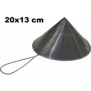 Coador De Óleo Chinoy Telado 20x13cm Inox