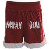 Shorts Calção Bermuda Muay Thai Mma Ufc Lutas Kanxa Verm P