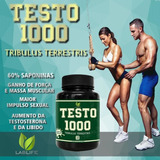 Tribulus Terrestris Puro 1000mg Ultra Potente - Importado