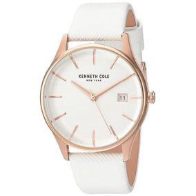Reloj Kenneth Cole Dama Elegante Blanco Kc15109002