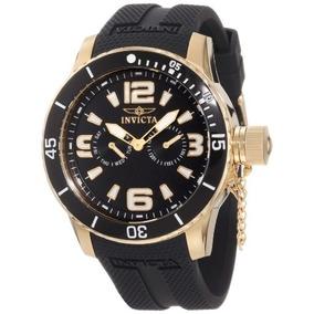 Especialidad\ Invicta Varonil 18k Reloj Ion-plateada