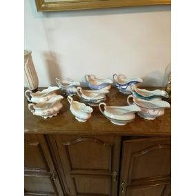 Salceras Antiguas De Porcelana Inglesa Coleccion