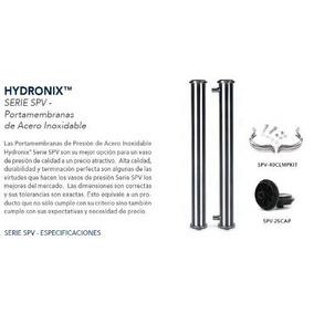 Porta Membrana 4x40 Acero Inoxidable Marca Hydron$$$$