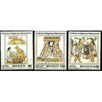 0428 México Scott#1290 Códices Indigenas 3 S Mint N H 1982