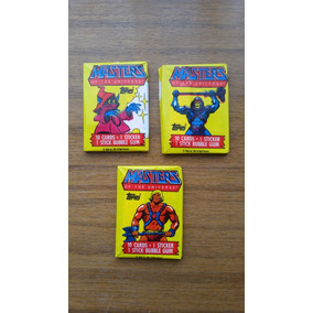 Masters Of The Universe Cards 1984