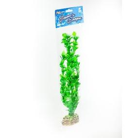 Accesorios Planta Decorativa Para Acuario De 50 Cm +kota
