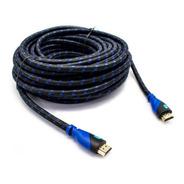 Cable Hdmi M/m V1.4 Mallado 2mts Filtro Noga
