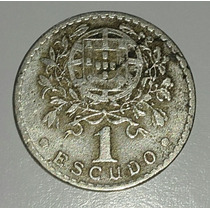Portugal Moneda 1 Escudo Año 1928 *030