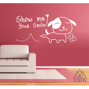 Adesivo Dog Smile A0085 Cod76a987