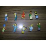 Los Simpsons Chocolate Jack Coleccion 2004: Lote 10 Muñecos