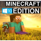 Codigo Minecraft Windows 10 Edition Original Completo