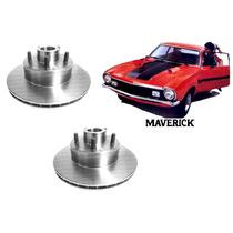 Disco Freio Dianteiro Maverick 2 1977 A 1979 ( Par Novo )