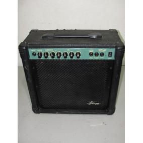 Amplificador Stagg 20ga Caixa De Som Cubo Amplificada Usa