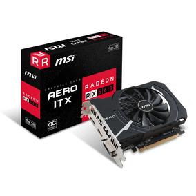 Tarjeta De Video Msi Radeon Rx 560 Aero Itx 4g Ddr5
