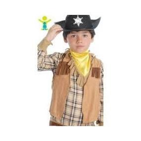 Sombrero Y Chaleco Cowboy