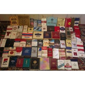 Coleccion 82 Cajas Importadas Cigarrillos/habanos/marquillas