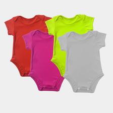 Bodys Para Bebé En Dryfit En 3m 6m 9m Y 12m