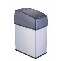 Lixeira Automática Inox Quadrada Slim 3 Litros