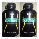 Ácido Linoleico Conjugado Cla 90 Caps/1000mg.