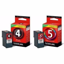 Kit Cartucho Lexmark 04 + 05 Para X2690 X2695 X4690 Original