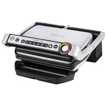 Parrilla Electrica T-fal Gc702 Optigrill Stainless Steel