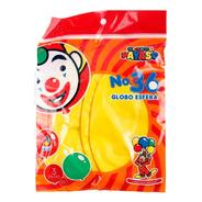Bolsa Con 3 Globos Tamaño 36 (90 Cms) Color Amarillo