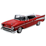 Motormax 1957 Chevy Bel Air Superior Duro 1/18 Diecast Mode