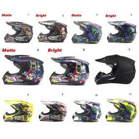 Capacete+brindes Motocross Corrida Dh Brindes -óculos