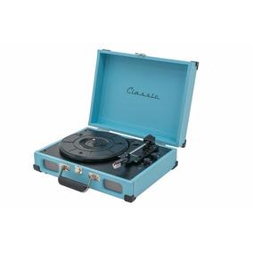 Toca Discos Retrô Vitrola Tennessee Azul - Ribeiro Pavani