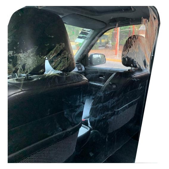 Protector Para Taxis Remis Aislamiento Pvc 100% Transparente