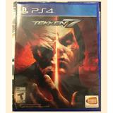 Tekken 7 Ps4 Playstation Español Nuevo Sellado En Oferta