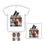 Kit Camiseta, Almofada E Caneca Hungria