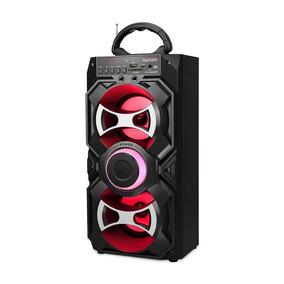 Caixa Som Portátil Amplificada Bluetooth Recarregável E431