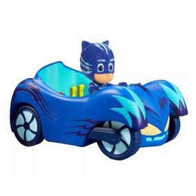 Pj Masks Heróis De Pijama Disney Jr Menino Gato E Veículo