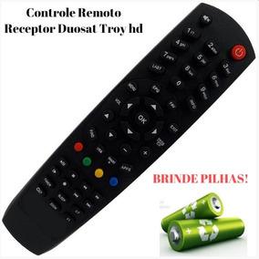 Controle Remoto Du#osat Tr#oy Hd P/ Tv Led Philips