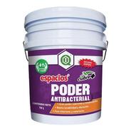 Pintura Antibacterial / Interiores Y Exteriores / Blanco 19l