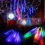Luz Led Tipo Tubo Lluvia De Estrellas Varios Colores Y Rgb